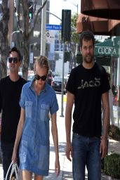 Diane Kruger - Shopping on Sunset Plaza - West Hollywood, March 2014