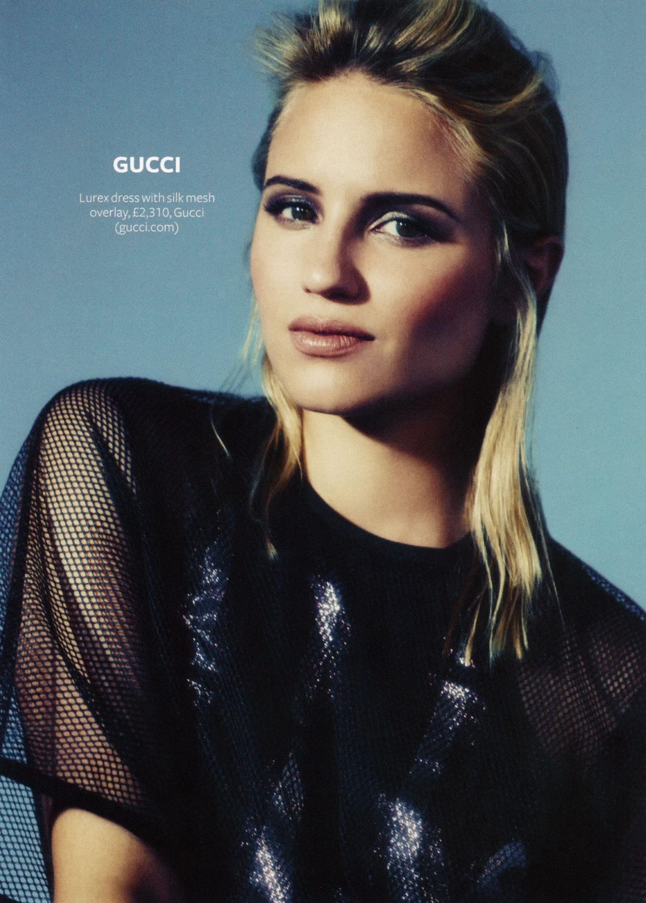 Dianna Agron - InStyle Magazine (UK) - February 2014 Issue ...