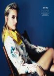 Dianna Agron - InStyle Magazine (UK) - February 2014 Issue