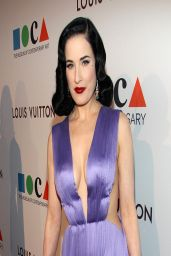 Dita Von Teese - MOCA's 35th Anniversary Gala – March 2014
