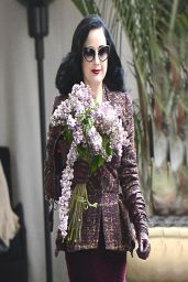 Dita Von Teese - The Chateau Marmont - Los Angeles, March 2014