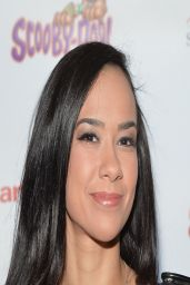 Diva AJ Lee - Scooby Doo! WrestleMania Mystery Premiere in New York City