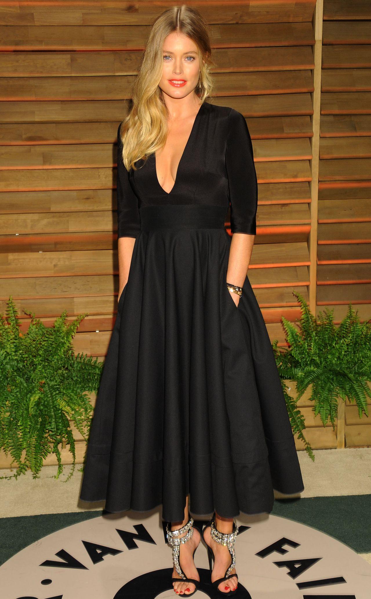 Doutzen Kroes 2014 Vanity Fair Oscars Party
