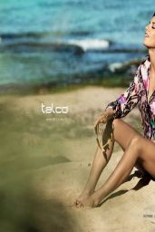 Elisabetta Canalis Photoshoot for Talco, Spring/Summer 2014