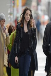 Elizabeth Gillies - Out in New York City - March 2014