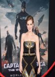 Elizabeth Henstridge - 'Captain America: The Winter Soldier' Premiere in Hollywood