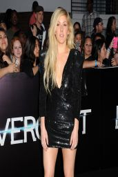 Ellie Goulding in Mini Dress - 'Divergent' Premiere in Los Angeles