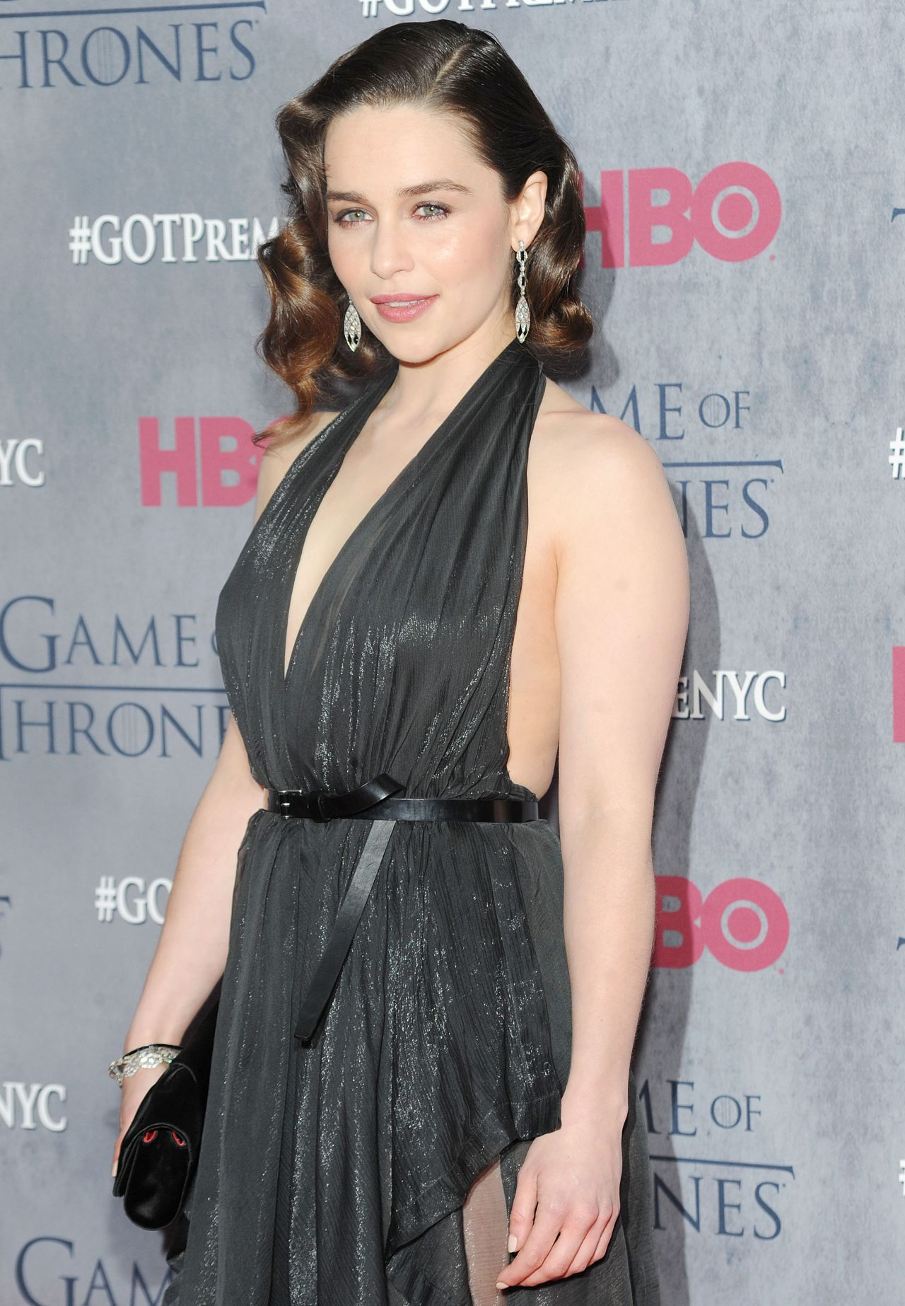 Emilia Clarke at 'Game of Thrones' Season 4 Premiere in ...