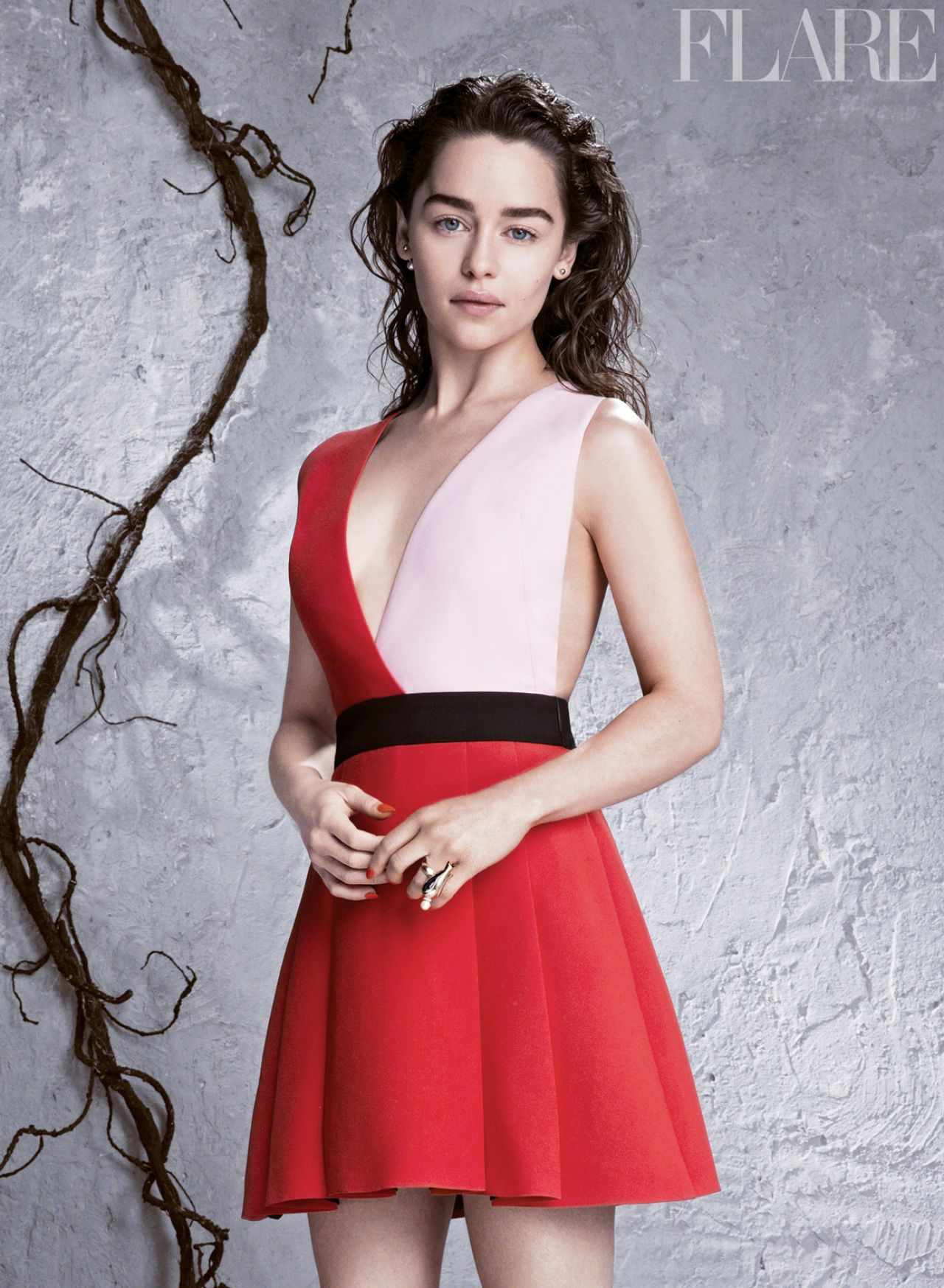 Emilia Clarke - Flare Magazine (Canada) - April 2014 Issue