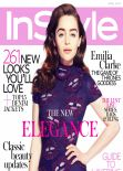 Emilia Clarke – InStyle Magazine (UK) - April 2014 Issue