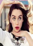 Emilia Clarke - Jason Kim Photoshoot for Glamour Magazine (France) - April 2014 Issue