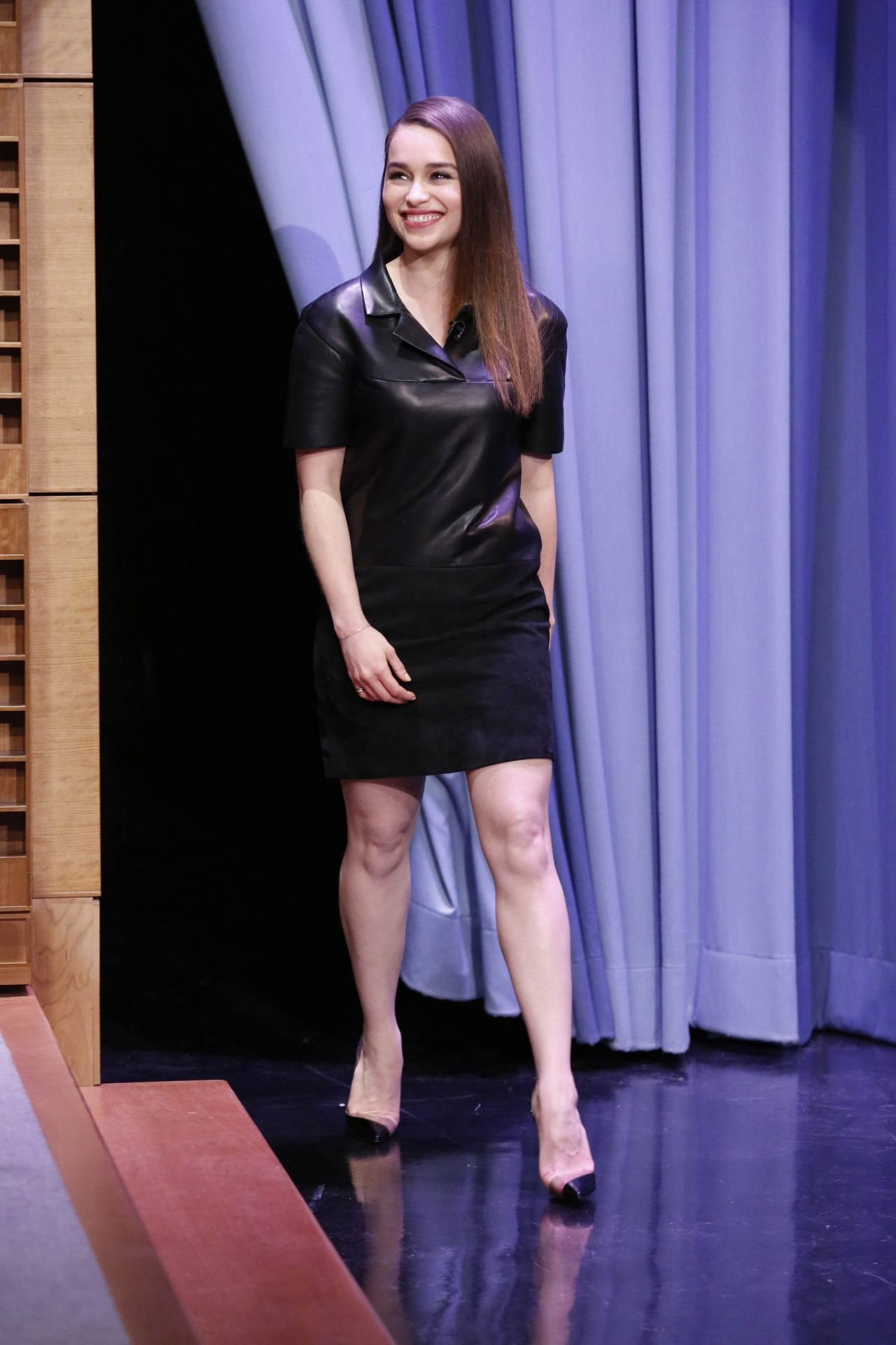 Emilia Clarke The Tonight Show With Jimmy Fallon March