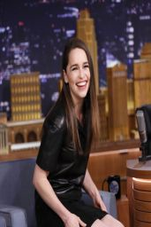 Emilia Clarke - The Tonight Show With Jimmy Fallon - March 2014