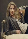 Emily Bett Rickards - Arrow TV Series Season 2 Promo Shoot 2014
