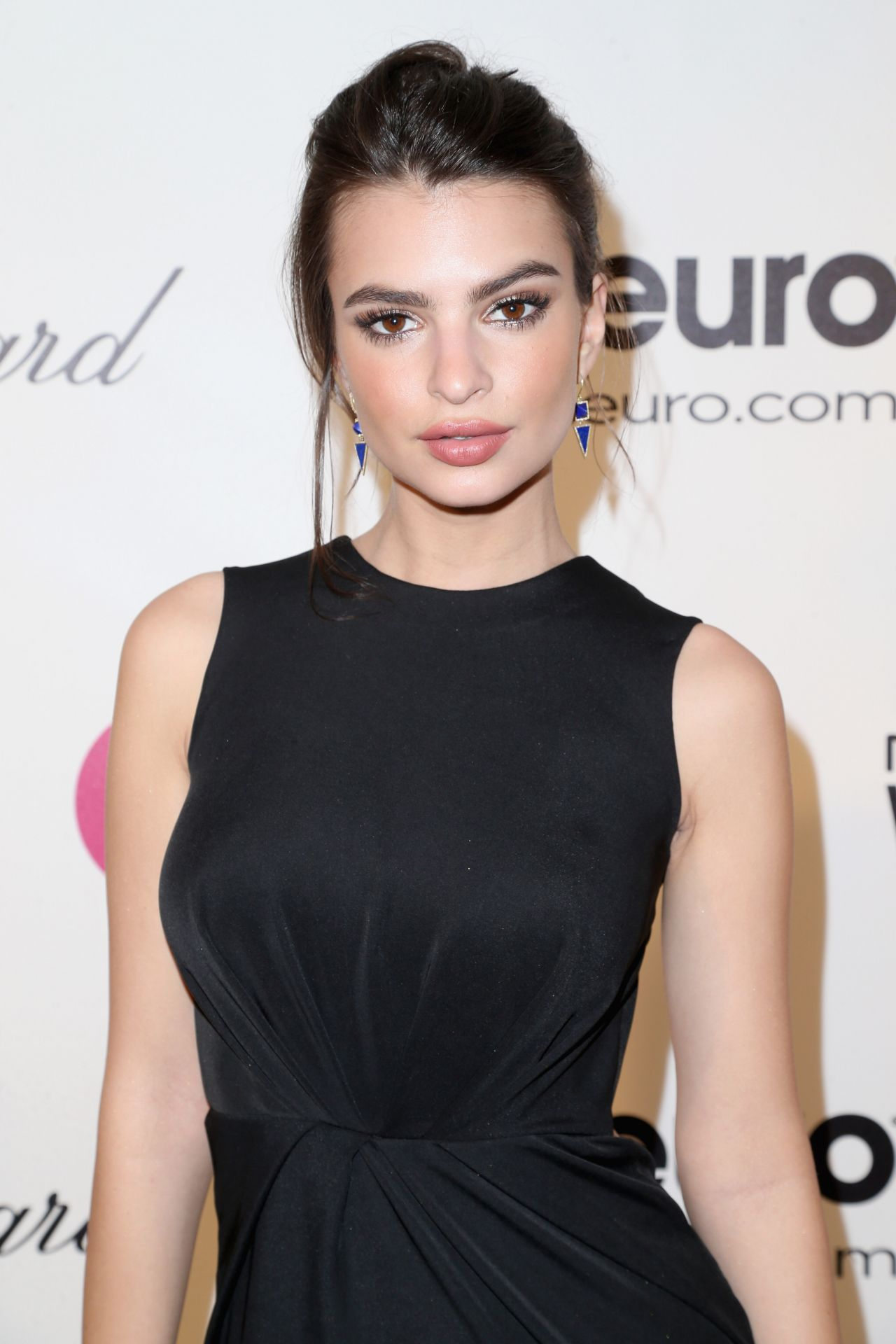 Emily Ratajkowski - Elton John AIDS Foundation Academy Awards Viewing Party in Los Angeles