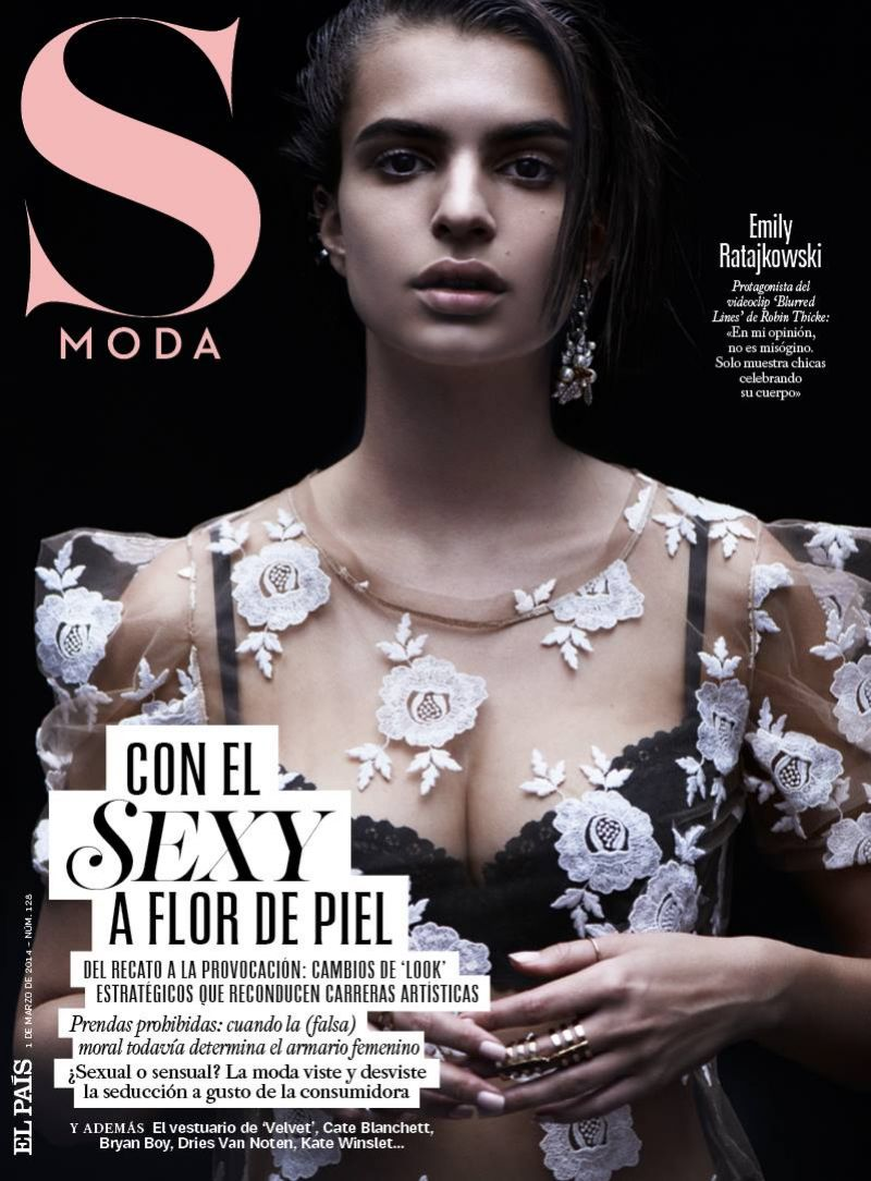 Emily Ratajkowski - S Moda Magazine - March 2014 Issue