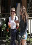 Emma Roberts - Out in West Hollywood - March 2014