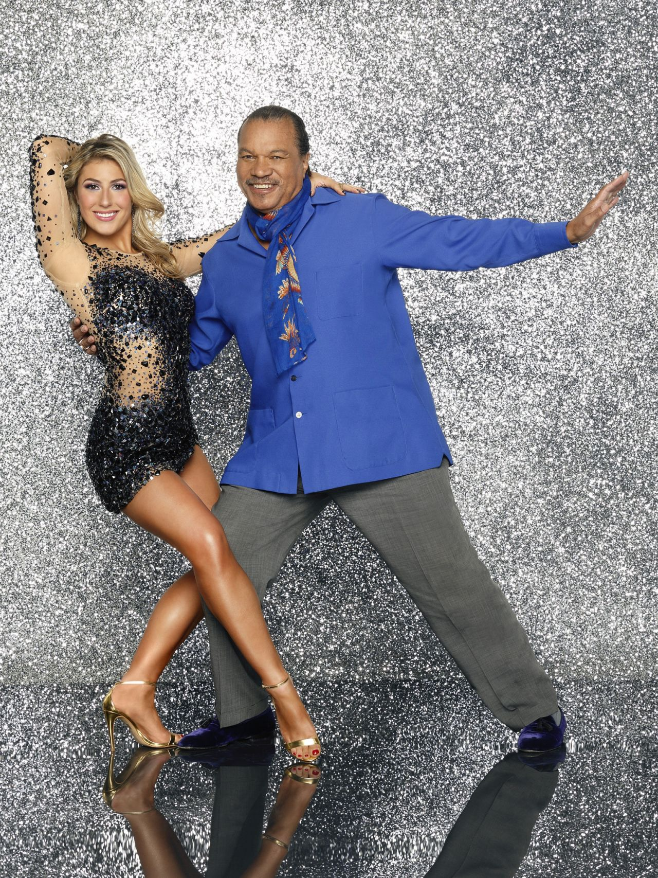 Emma Slater & Billy Dee Williams - Dancing with the Stars – Season 18 – Promo Photo