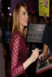 Emma Stone in Singapore -