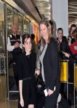 Emma Watson at Berlin Airport, March 2014