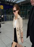 Emma Watson - Heathrow Airport in London - March 2014