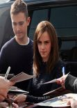 Emma Watson in Berlin - Signing Autographs, March 2014
