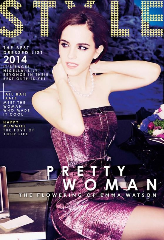 Emma Watson - The Sunday Times Style Magazine March 2014 Issue