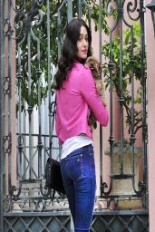 Emmy Rossum in Jeans - Out in Los Angeles, March 2014