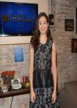 Emmy Rossum in Mini Dress at CBS This Morning - New York City, March 2014