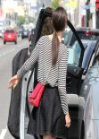 Emmy Rossum in Miniskirt - Out For Some Shopping in West Hollywood