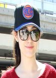 Emmy Rossum - Los Angeles International Airport - March 2014