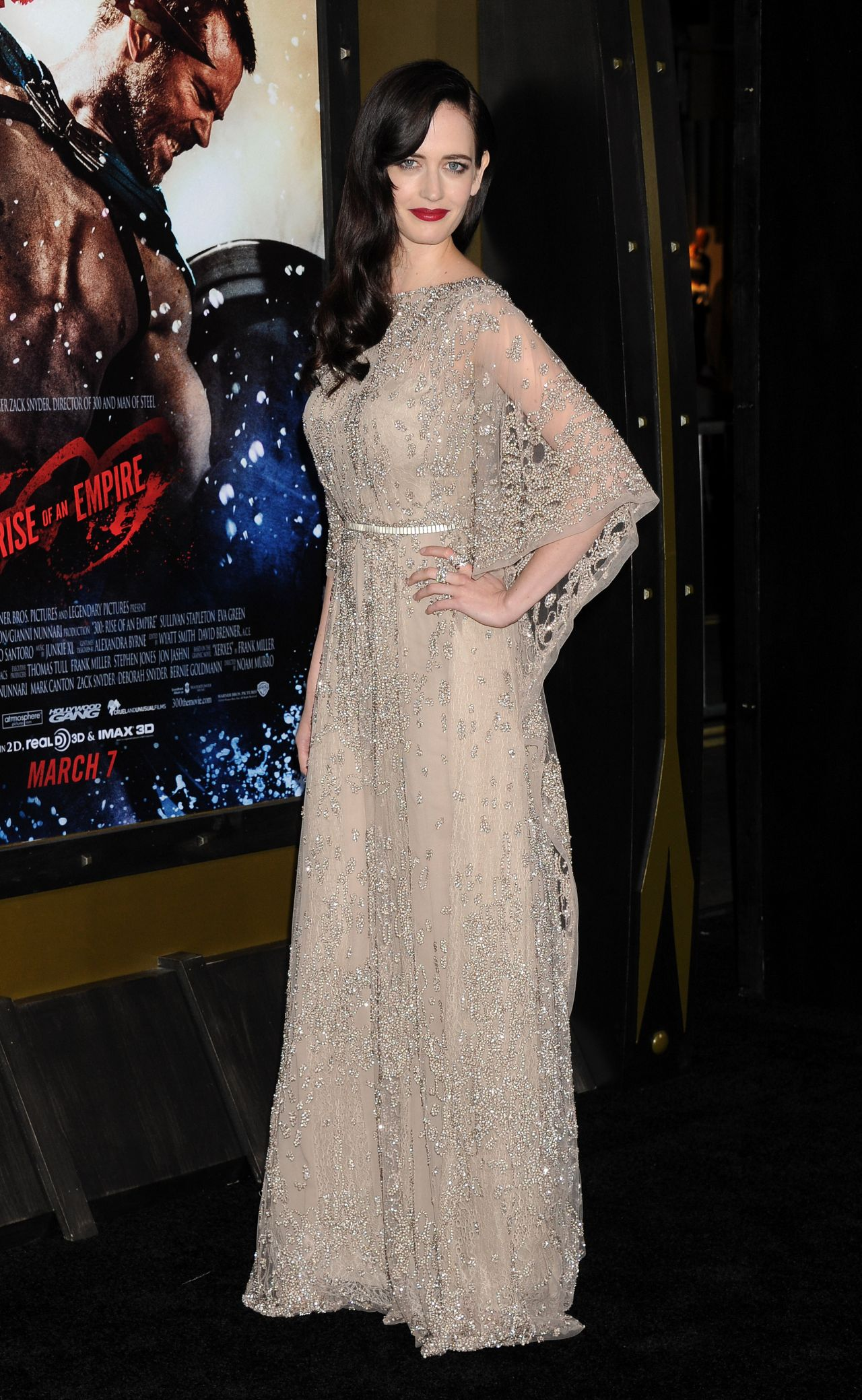 Eva Green - '300 Rise of an Empire' Premiere in Los Angeles300 Rise Of An Empire Eva Green Dress