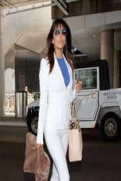 Eva Longoria - Arriving to the LAX Airport From Australia, March 2014