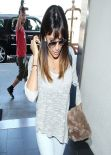 Eva Longoria Casual Style - Los Angeles International Airport - March 2014
