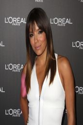 Eva Longoria in White Dress - 2014 Melbourne Fashion Festival