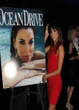 Eva Longoria - Ocean Drive Magazine - March Issue Cover Party in Miami