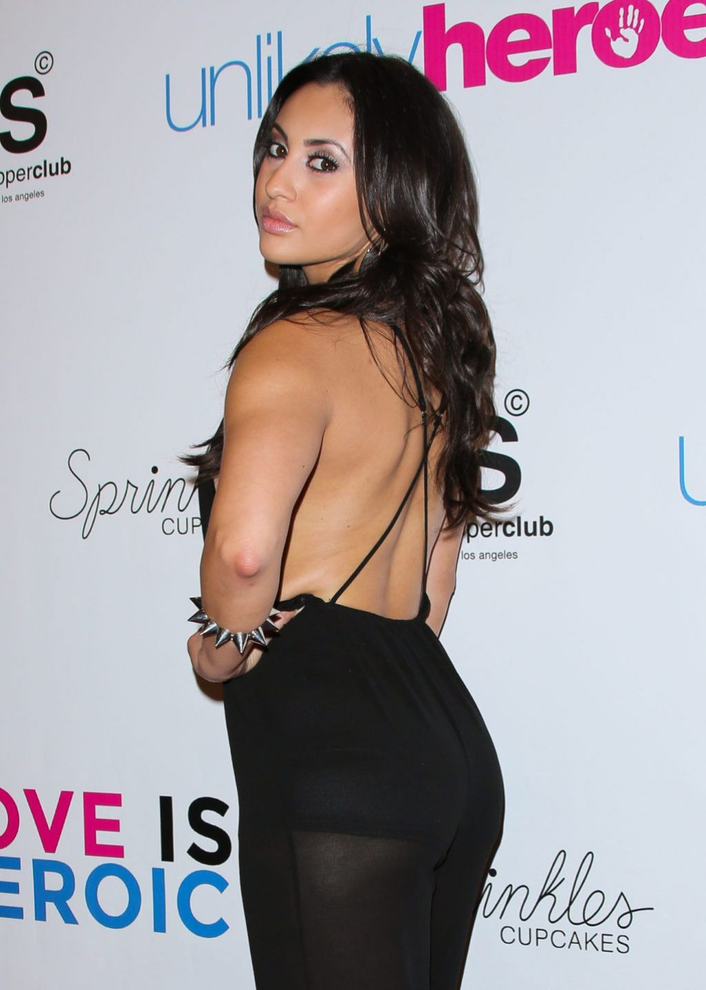 Francia Raisa - Unlikely Heroes Red Carpet Spring Benefit, March 2014