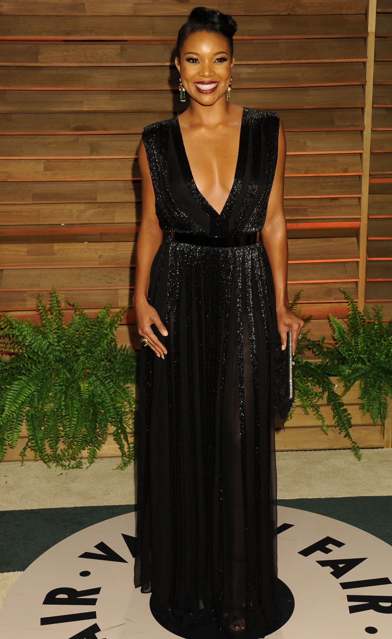 Gabrielle Union - 2014 Vanity Fair Oscar Party in Hollywood