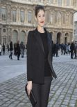 Gemma Arterton in Paris - Louis Vuitton Fashion Show - March 2014