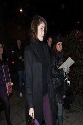 Gemma Arterton Night Out Style -