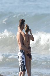 Gisele Bundchen in a Bikini -  Beach in Costa Rica, March 2014