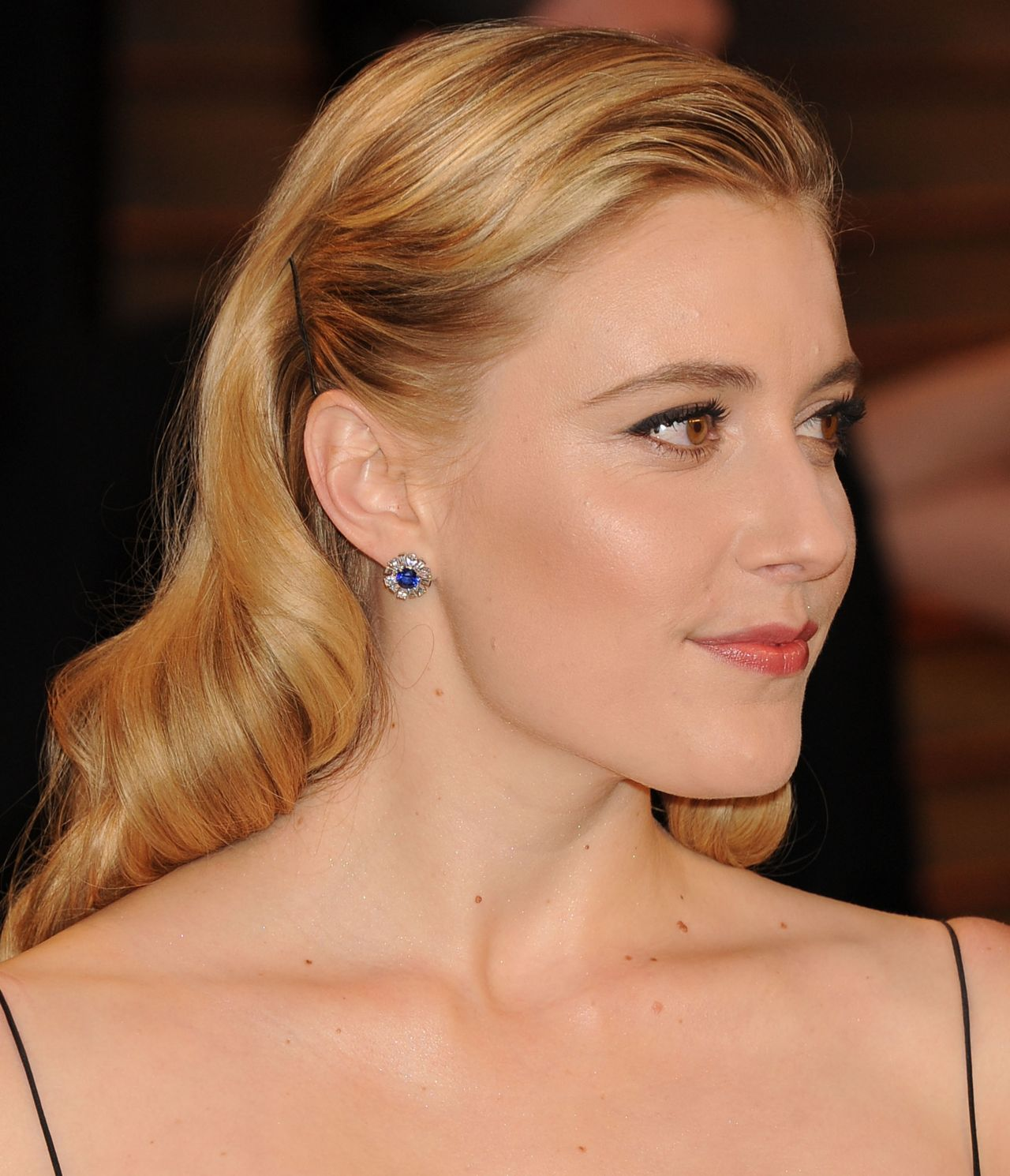 Greta Gerwig 2014 Vanity Fair Oscar Party