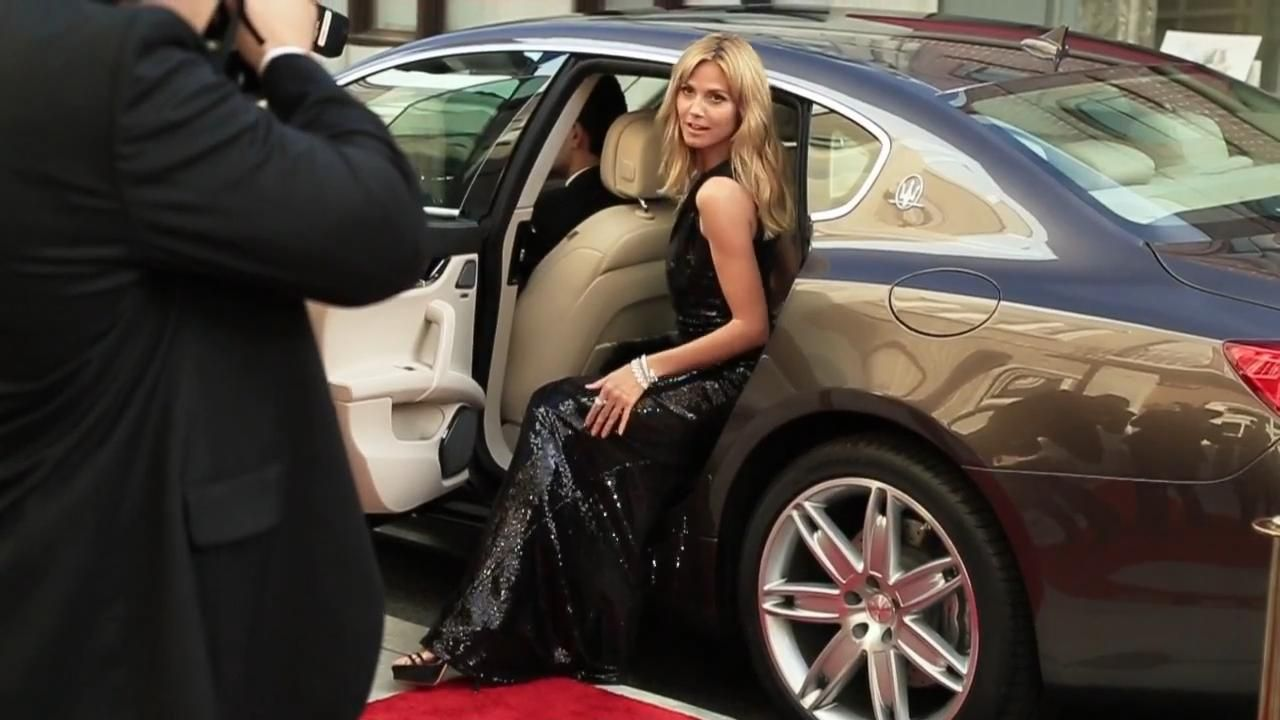 Heidi Klum - Maserati Debuts the All-new Ghibli and 2014 Line-up in 50th Anniversary SI Swimsuit Issue