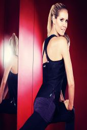 Heidi Klum - New Balance Photoshoot Spring-Summer 2014