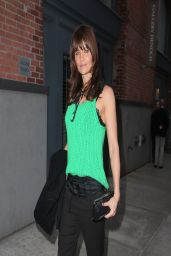 Helena Christensen in NYC - Fashion Photography Exhibition - March 2014