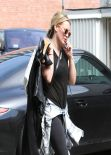 Hilary Duff Casual Street Style - Out in Los Angeles - March 2014