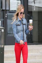 Hilary Duff in Jeans - Out in Sherman Oaks - March 2014