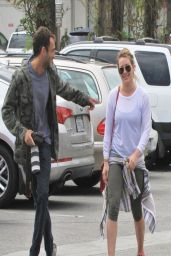 Hilary Duff in Spandex - Out Shopping - West Hollywood, March 214