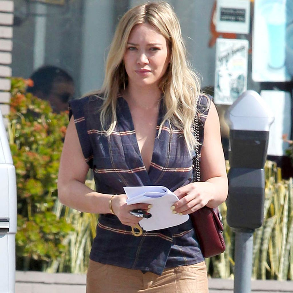 Hilary Duff - Out in Los Angeles - March 2014