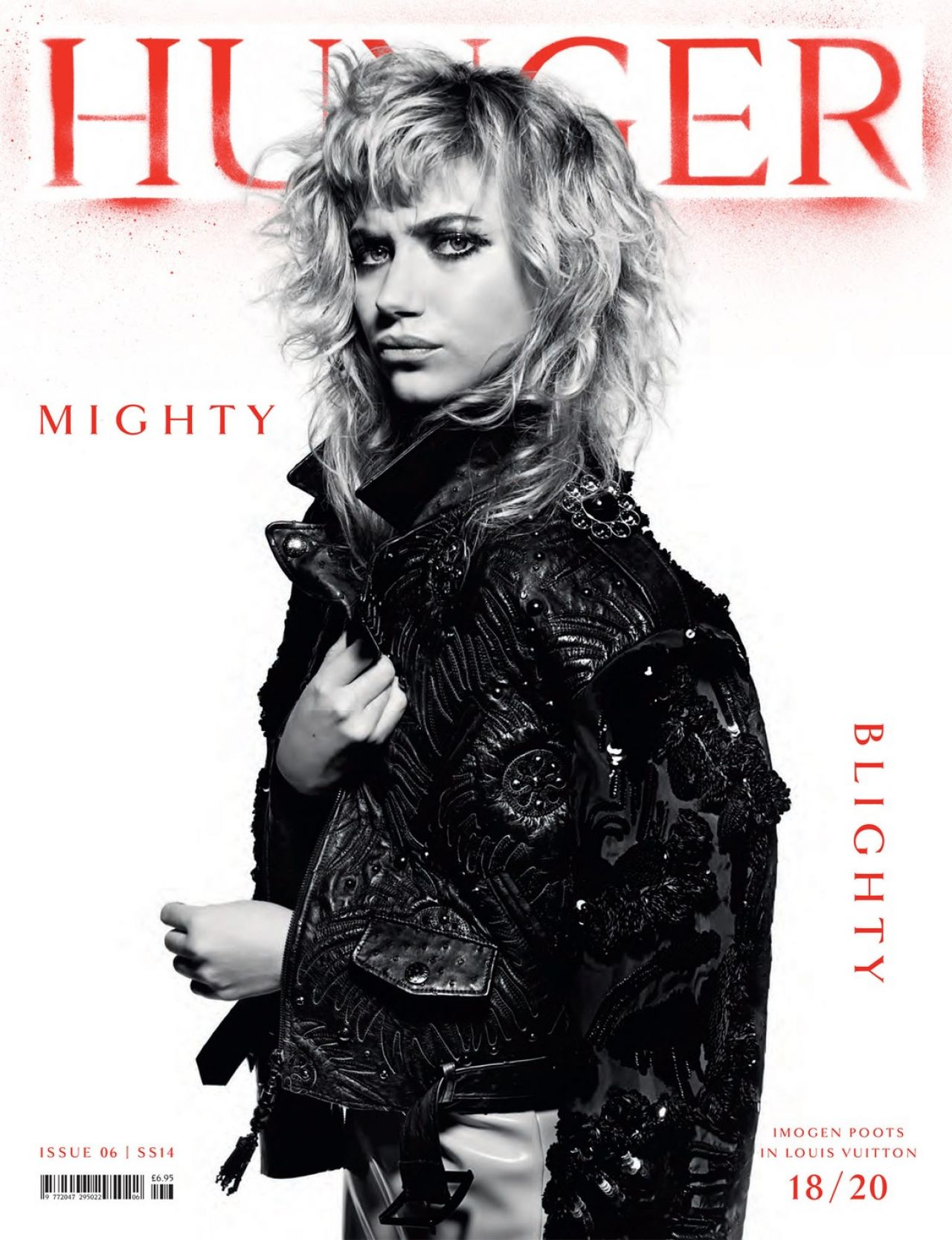 Imogen Poots - Hunger Magazine - Spring/Summer 2014 Issue